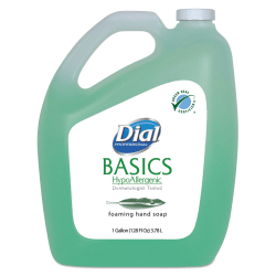 Dial® Basics Foam Hand Soap With Aloe, Fresh Scent, 128 Oz Bottle