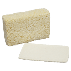 "SKILCRAFT® Cellulose Sponge, 5 3/4"" x 3 5/8"", Pack Of 12 (AbilityOne 7920-00-240-2555)"