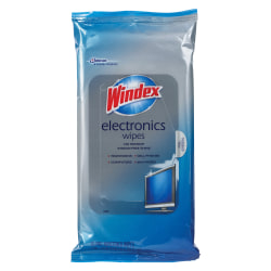 Windex Electronics Wipes, Pack Of 25 Wipes