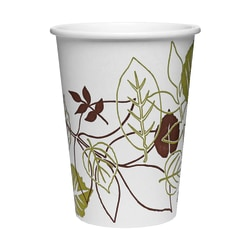 Dixie® Polycoated Paper Cold Cups, 16 Oz, Pathways® Design, 50 Cups Per Sleeve, 24 Sleeves Per Carton
