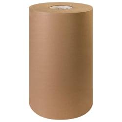 "Office Depot® Brand Kraft Paper Roll, 60 Lb, 15"" x 600', 100% Recycled, Kraft"