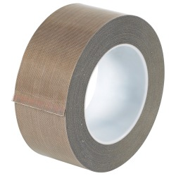 """Office Depot® Brand PTFE Glass Cloth Tape, 3"""" Core, 2"""" x 54', Brown"""