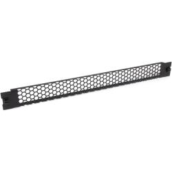 "StarTech.com Blanking Panel - 1U - Vented - 19in - Tool-less - Steel - Black - TAA Compliant - Blank Rack Panel - Filler Panel - Steel, Plastic - Black - 1U Rack Height - 1 Pack - 0.9"" Height - 1.7"" Width - 19"" Depth - TAA Compliant"