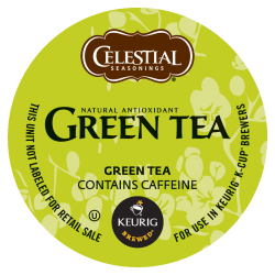 Celestial Seasonings® Natural Antioxidant Green Tea Single-Serve K-Cups®, 0.40 Oz, Box Of 96