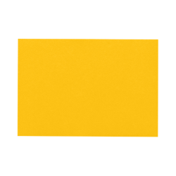 "LUX Flat Cards, A7, 5 1/8"" x 7"", Sunflower Yellow, Pack Of 500"