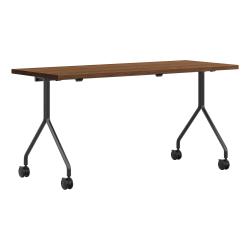 """HON® Between Pinnacle Nesting Table, 60""""W, Brown"""