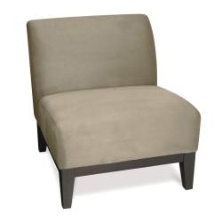 Ave Six Glen Accent Chair, Stone/Dark Brown