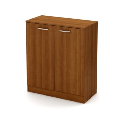 South Shore Axess 2-Door Storage Cabinet, Morgan Cherry