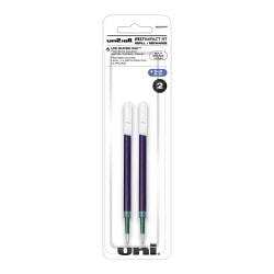 uni-ball® 207™ Impact™ RT Gel Pen Refills, Bold Point, 1.0 mm, Blue, Pack Of 2 Refills