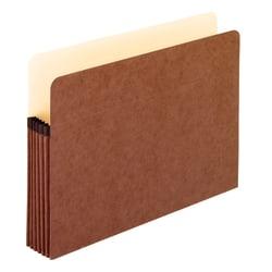 "Pendaflex® Redrope File Pocket, Letter Size, 5 1/4"" Expansion, Redrope"