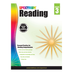 Carson-Dellosa Spectrum Reading, Grade 3