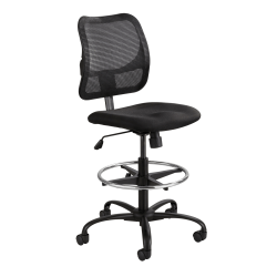 Safco® Vue™ Mesh Extended Height Chair, Black