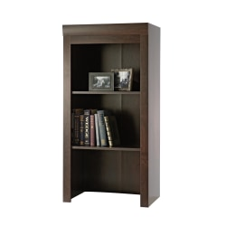 Sauder® Office Port Collection, Library Hutch, Dark Alder