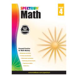 Spectrum® Math, Grade 4