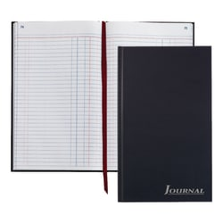 """Adams® Journal, 7 1/2"""" x 12 1/4"""", 150 Pages (75 Sheets), Navy"""
