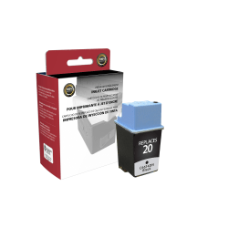 Clover Imaging Group™ OM98824 Remanufactured Black Ink Cartridge Replacement For HP 20
