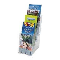Office Depot® Brand 4-Tier Literature Holder