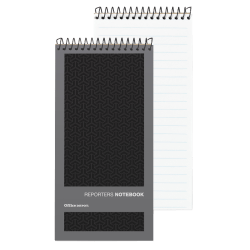 "OfficeMax® Brand Pocket Memo Book, 4"" x 8"", Gregg Rule, Asst Color Covers"