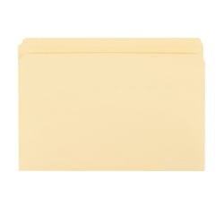 "Office Depot® Brand Manila File Folders, 3/4"" Expansion, Straight Cut, Letter Size, Pack Of 100 Folders"