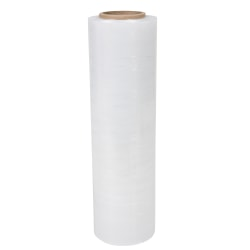 "OfficeMax® Brand Stretch Wrap, 70 Gauge, 18"" x 1,500', Clear, Pack Of 4"