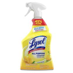 Lysol All-Purpose Cleaner, Lemon Scent, 1 Quart