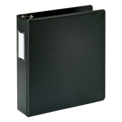 """Office Depot® Brand Durable Slanted D-Ring Binder, 2"""" Rings, 100% Recycled, Black"""