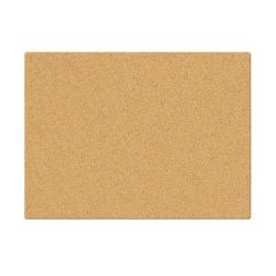 "INFUSE Canvas Cork Board, 23"" x 35"""