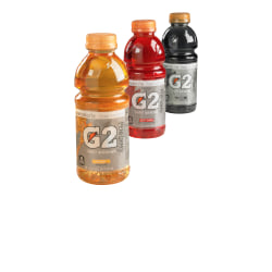 Gatorade G2 Sports Drink, Orange, 20 Oz, Pack Of 24 Bottles