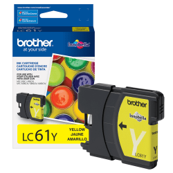 Brother® LC61Y Yellow Ink Cartridge