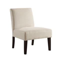Ave Six Laguna Accent Chair, Oyster/Dark Espresso