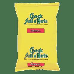 Chock Full o' Nuts Original Blend Coffee Single-Serve Packets, 1.75 Oz, Carton Of 42