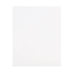 Office Depot® Brand Secure Top 2-Pocket Folders, White, Pack Of 10