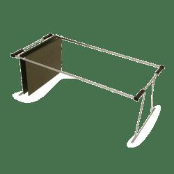 "OIC® Steel Universal Hanging File Folder Frame, 24 - 27"", Silver"