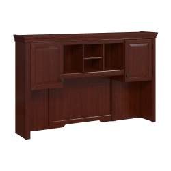 kathy ireland® Home by Bush Furniture Bennington Hutch, Harvest Cherry, Standard Delivery