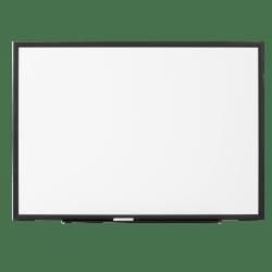 "FORAY™ Magnetic Unframed Dry-Erase Whiteboard, 72"" x 48"", Jet Black"