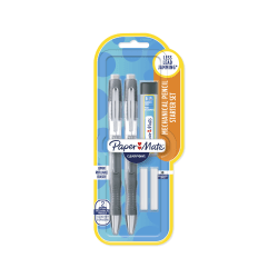 Paper Mate® Clearpoint® Elite Mechanical Pencil Starter Set, 0.7 mm, Assorted Barrel Colors, Pack Of 2