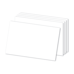 Office Depot Brand Blank Index Cards White 4 x 6 Pack of 300