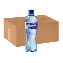 Propel® Electrolyte Water Beverage with Grape Flavor, 16.9 Oz, Case Of 24 Bottles