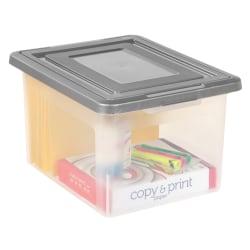 IRIS® File-N-Stack File Box, 2-pack