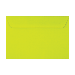"LUX Booklet Envelopes With Peel & Press Closure, #6 1/2, 6"" x 9"", Wasabi, Pack Of 500"