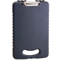 """Officemate® OIC Tablet Clipboard Case, 16 1/10""""H x 10 1/5""""W x 1 3/10""""D, Charcoal"""