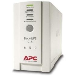 APC Back-UPS CS 650VA 230V For International Use - 650VA/400W - 11.4 Minute Full Load - 3 x IEC 320-C13 - Battery/Surge-protected, 2 x - Battery/Surge-protected, 1 x IEC 320-C13 - Surge-protected