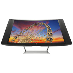 """HP Pavilion 27"""" FHD LED LCD Curved Monitor"""