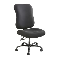 Safco® Optimus Big & Tall High-Back Chair, Black