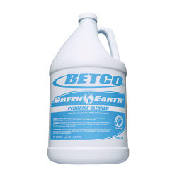 Betco® Green Earth® Peroxide Cleaner Concentrate, Mint Scent, 128 Oz, Clear, Box Of 4 Bottles
