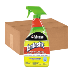 Fantastik® All-Purpose Cleaner, Pleasant Scent, 32 Oz, Pack Of 12
