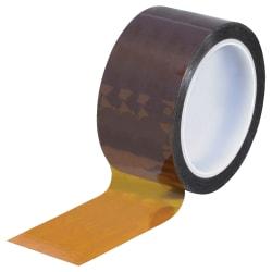 """Kapton® Sealing Tape, 3"""" Core, 2"""" x 108', 1 mil, Amber"""