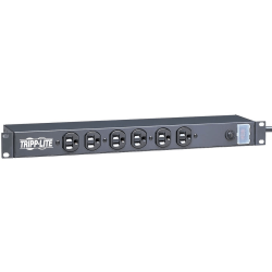Tripp Lite Power Strip Rackmount Metal 120V 5-15R 12 Outlet 15' Cord 1URM - NEMA 5-15P - 12 NEMA 5-15R - 15ft