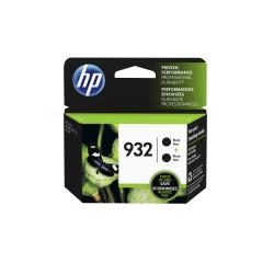 HP 932 Black Original Ink Cartridges, 2 Pack (L0S27AN)