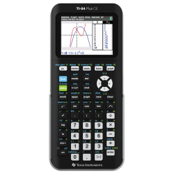 Texas Instruments® TI-84 Plus CE Color Graphing Calculator, Black